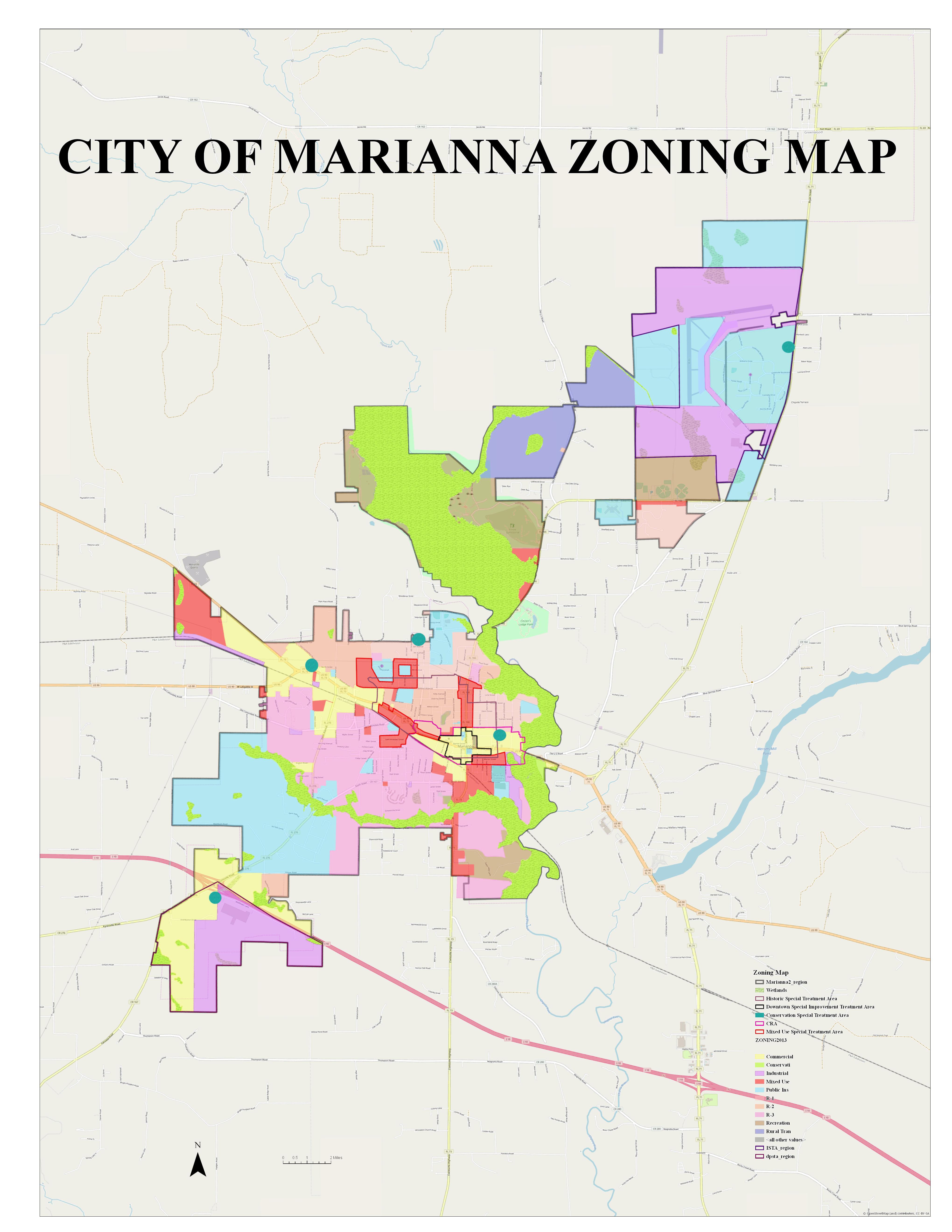 Marianna Florida Map.Maps Marianna Fl Official Website