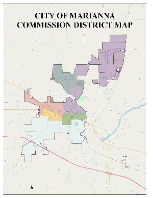 City Commission District Map
