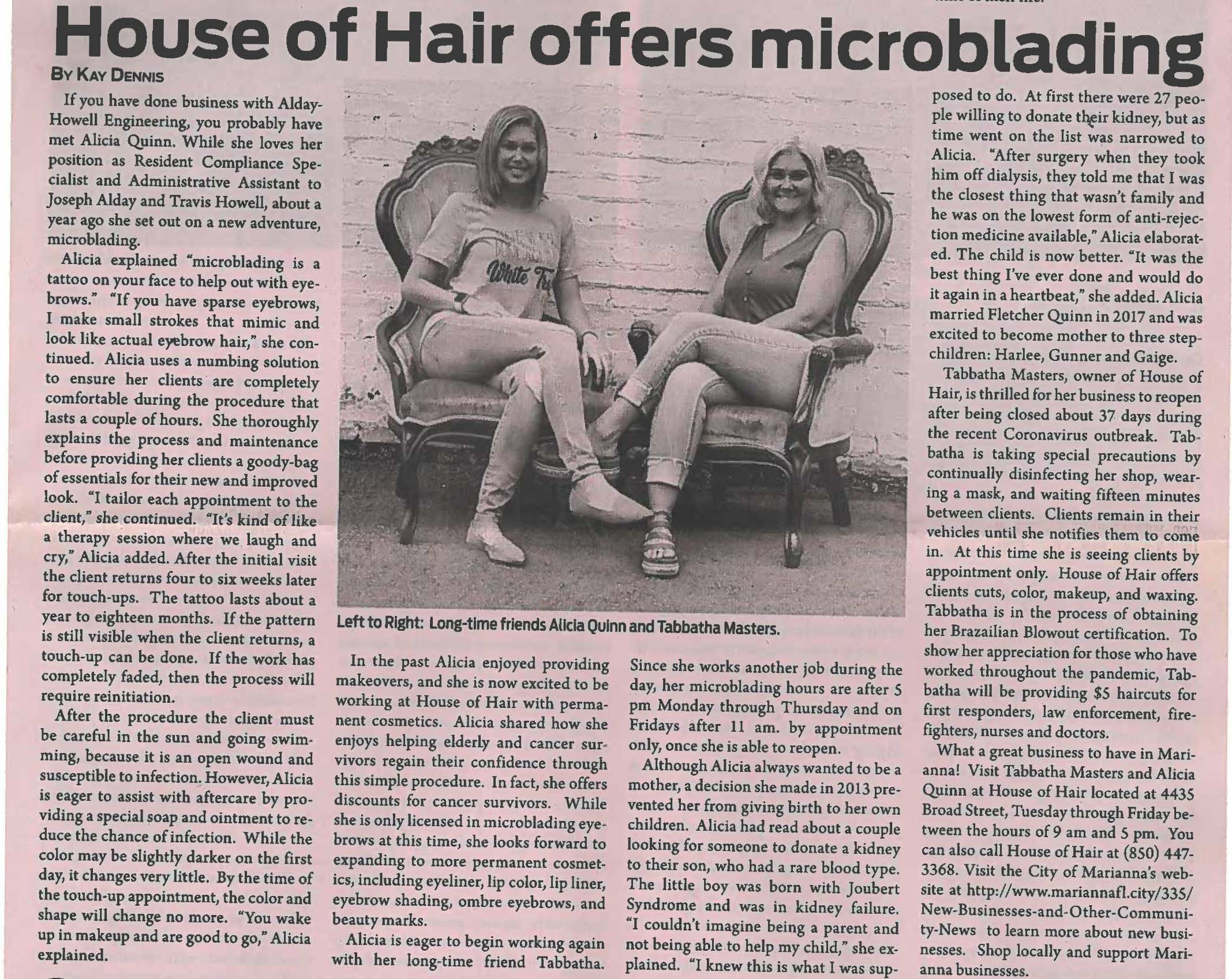 House of Hair -Jackson Times
