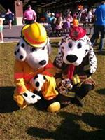 Sparky and Rescue Fire Dogs