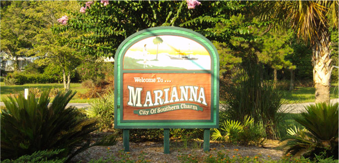 to Marianna Florida - City