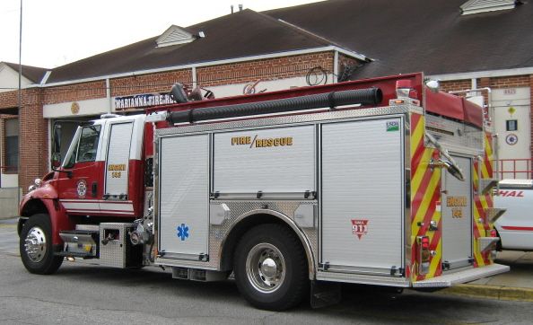 Engine 16 - 2009 Pierce Contender Pumper